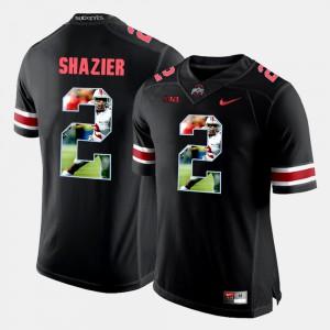 Black #2 Pictorial Fashion Ryan Shazier OSU Jersey For Men's 982431-698