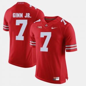Alumni Football Game #7 Scarlet Men Ted Ginn Jr. OSU Jersey 915863-892