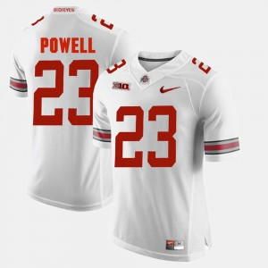 #23 Tyvis Powell OSU Jersey Alumni Football Game White For Men's 373952-607