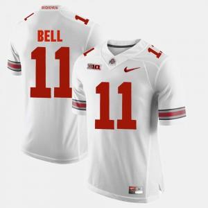 Alumni Football Game Men #11 Vonn Bell OSU Jersey White 890978-932