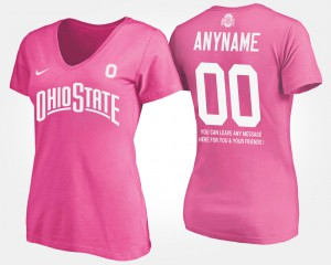 #00 Pink Ladies With Message OSU Custom T-Shirts 689372-969