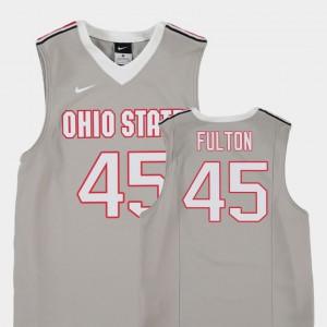 For Kids Gray College Basketball Replica Connor Fulton OSU Jersey #45 547502-459