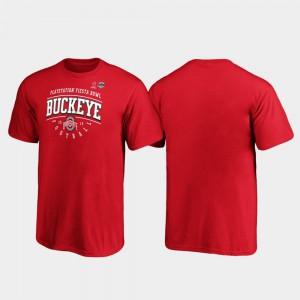 Youth(Kids) 2019 Fiesta Bowl Bound OSU T-Shirt Scarlet Tackle 447154-974